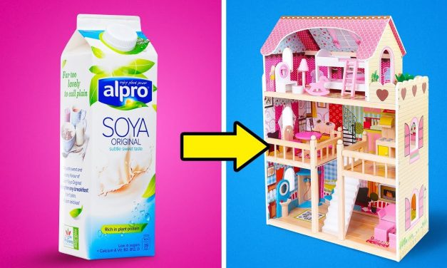 27 COOL DIY BARBIE FURNITURE IDEAS