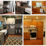 DIY kitchen remodel with Madison. Concrete counter tops for $30 bucks, WOW!!