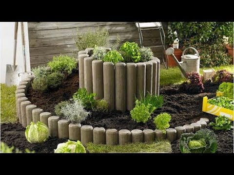 🔴 Ideas for garden and backyard: flowers and flower beds in the landscape design. Part 11