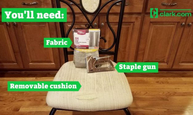 DIY furniture savings: How to reupholster seat cushions