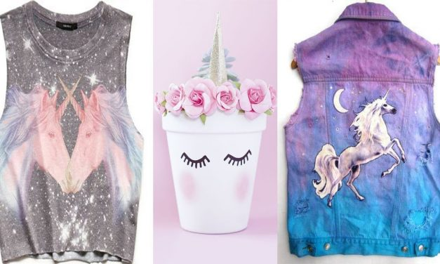 DIY ROOM DECOR! T Shirts, Rings, Foods with Unicorns Designs