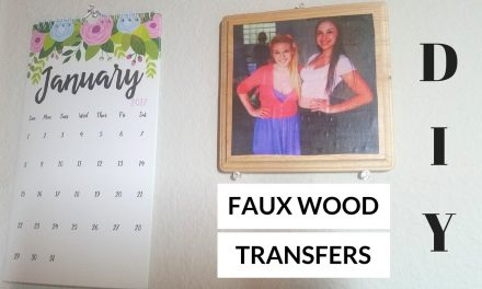 QUICK CRAFTS: DIY Wood Transfer Cheat – Cheap and Easy Gift!