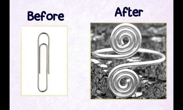 How to Change Paperclip into Cute Swirl Ring – DIY Projects