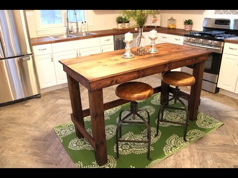 The $20 Kitchen Island – EASY DIY PROJECT
