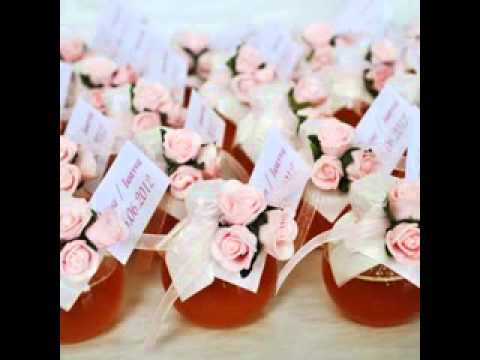 DIY Unusual wedding favours decorating ideas