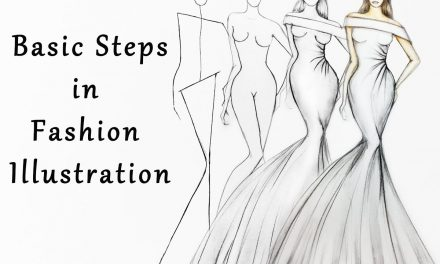 Steps in Fashion Illustration
