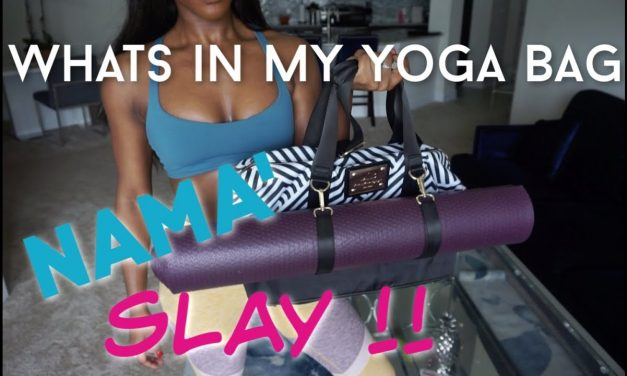 WHATS IN MY YOGA BAG