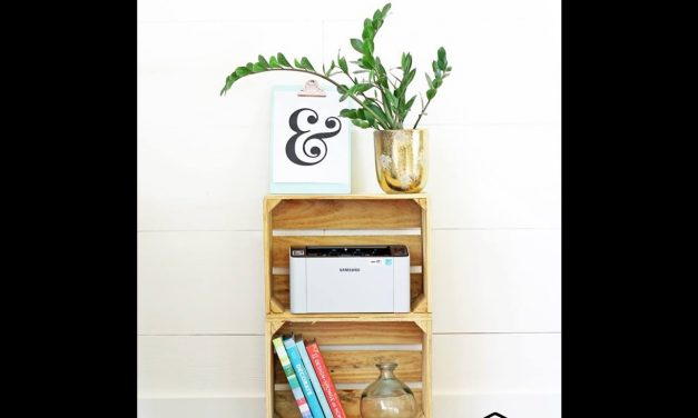 Brilliant DIY Crafts You Can Make with Wood Crates