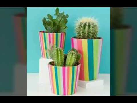 Gardening ideas:diy pots