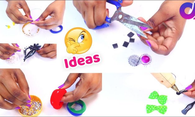 5 Brillient Hair accessories DIY ideas you have ever seen | Artkala 397