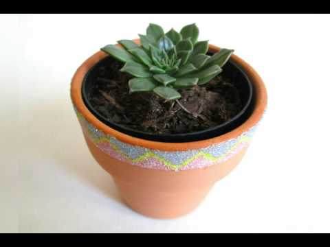 Gardening Ideas For Pots-Painting DIY