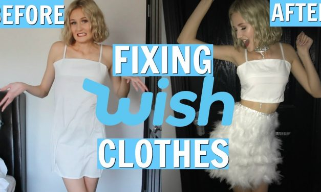 FIXING WISH CLOTHES – DIY WISH CLOTHES