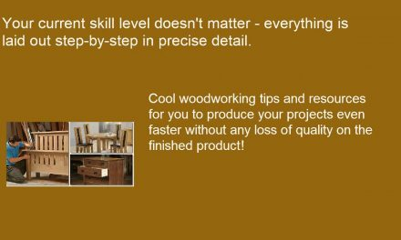 How To Make Furniture and Wood Crafts – DIY Woodworking and Crafting Guides EBook
